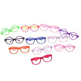 2019 occhiali americani della ragazza nuovi occhiali adatti per American Girl Doll 18 pollici American Girl Doll, accessori baby doll neonato sconti occhiali americani della ragazza