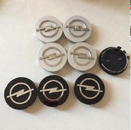 4 pcs 59mm Opel Emblema Centro de Roda Tampa do cubo Cobre Estilo Do Carro Apto para Opel de