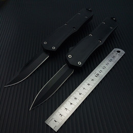 Wholesale Knife Assisted Free Shipping - Tactical Automatic knife Spring Assist Knifes cutting tool outdoor multi-functional portable tactical Switch blade camping knife Free Ship