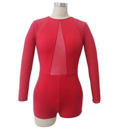 2019 maglia corpetto Body per ginnastica per le ragazze Body per ginnastica maniche lunghe Unitard Microfibra Lycra Maglia con cerniera sul retro Tuta per balletto sconti maglia corpetto