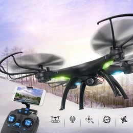 Wholesale Helicopter Axis - M39G-W WIFI FPV Drone With Camera Professional 2.4G 6-Axis RC Flying Toys With HD Camera Helicoptero de Controle Remoto