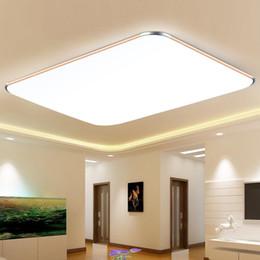2019 офис светильников Led ceiling lamp living room Ceiling Lights modern minimalist rectangular office balcony lighting Fixture Indoor AC 90-265v дешево офис светильников