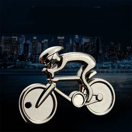 2019 portachiavi della bici Sport Mountain Bike In lega di zinco Car Keychains Portachiavi Regalo Portachiavi Auto da uomo Portachiavi sportivo Portachiavi portachiavi della bici economici