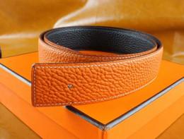 Cinturones grises online-2018 oro plata gris hebilla cinturón de cuero genuino cinturones de diseño hombres mujeres alta calidad nuevos cinturones para hombre cinturón de negocios envío gratis