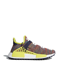 Wholesale men color shoes - Pharrell Williams HU NMD Trail Human Race Mens Women Shoes Luxury Brand Running Sneakers Men Designer Trainers New Color