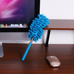 Wholesale Car Duster Case - 1 Pc Wholesale Scalable Duster Clean Brush Desktop Cleaning Telescopic Dusters Household Dusting Brush Cars Cleaning Tool
