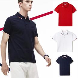 2019 polo verde morado pp Fred camisa de polo de los hombres de londres Moda juvenil casual polo mens slim fit Inglaterra polos de los jerseys sólidos marca blanca