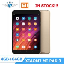 Tablet original de Xiaomi Mipad Mi Pad 3 7.9 '' ROM MI ROMI de 64 GB de 4 GB de 4 GB de 4 GB '' MediaTek MT8176 Hexa Core 2.1GHz 2048 * 1536 13MP 6600mAh desde fabricantes