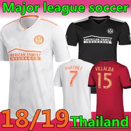 Versão especial on-line-18/19 Atlanta uniu a versão dos fãs da camisa de futebol especial preta GARZA JONES Futebol da liga principal VILLALBA MCCANN AWAY uniforme de futebol