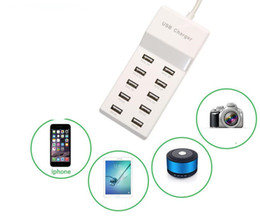 Wholesale universal multi plug - USB charger plug - in adapter US regulatory EU regulations UK regulatory multi - port charging head mobile phone charger