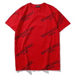 Designers de camisetas superiores on-line-2019 Novas Mulheres Mens T Shirt com Carta de Marca de Impressão Designer de Moda Top T-shirt de Manga Curta Casual T-shirt S-2XL