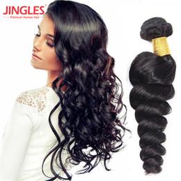 8-26 inç Malezya insan saç demetleri gevşek dalga uzantıları 100 işlenmemiş Virgin İnsan Saç Demetleri atkı afro kadınlar için doğal siyah nereden