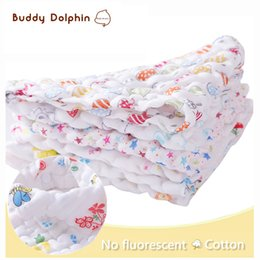 Wholesale-5 Piece lot Baby Bibs Muslin Cotton Triangle Bibs & Burp Cloths Baby Boy Girls Kerchief Infant Babador Bandana Bibs For 0-1Year. Coupon