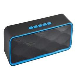 Wholesale universal center - Newest Bluetooth Speaker SC211 Portable Wireless Bluetooth speaker Outdoor Double horn Subwoofer Audio Support TF Cars FM Radio USB