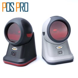 Wholesale Usb Ubs - Wholesale- IOBC020 Hot sales Omnidirectional handsfree 20 lines Laser Barcode Scanner, 1500 scans s, USB-HID, UBS-COM, RS232, Auto Sensor