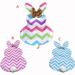 Wholesale flag ties - Easter Bunny Flags Canvas Rabbit Garden Flag with Jute Bow Tie Easter Home Decoration Cute Bunny Shape Garden Flag ins B11