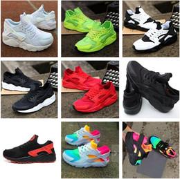 Zapatos de alta calidad Air Huarache Unisex grandes para niños, niños, niñas, hombres, todos, Black Air, zapatillas deportivas, Huaraches, zapatillas de deporte casuales, zapatillas de atletismo. desde fabricantes