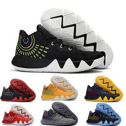 Wholesale Crazy Fashion - 2018 fashion kyrie irving 4 CRAZY EXPLOSIVE mid Basketball sneaker Newest release for Men's star Basketball sport Shoes