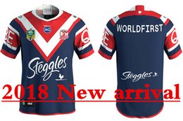 Wholesale product listings - SYDNEY ROOSTERS 2018 HOME JERSEY size S--3XL New products are listed, top quality , free delivery. 2018 Blues Super Rugby