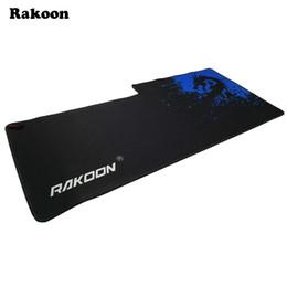 Rakoon 40x90cm нарушение анти-скольжения 3D коврик для мыши геймер большой профессиональный игровой коврик для мыши Grande клавиатура коврик для LOL Dota 2 CS GO от Поставщики кисти для рисования