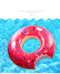 2019 braccialetto salvagente Anello di nuotata ad anello 100 cm Salvagente gonfiabile addensato di grandi dimensioni adulto