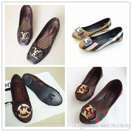 cci designer shoes women Luxury brand 2018 mk Summer Casual shoes flat heels Fashion Bow glittler shoe Round Toe Soft soles women g
