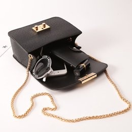 Wholesale Korean Chain Bag - Single shoulder messenger bag female bag 2018 new south Korean version of the small package chain small square.