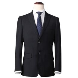 Nuevas llegadas Chaquetas de traje de hombre de versión coreana Ropa formal Chaqueta de traje de hombre de negocios de corte regular Ir al trabajo desde fabricantes