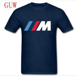 2019 chemises de voiture en gros Détails sur les hommes Crew Neck en gros Discount T-shirt Voiture Top Sportsport M Sports Series M - Petit - Xxxl promotion chemises de voiture en gros