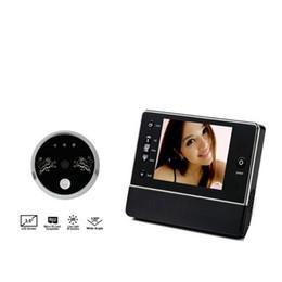 """Wholesale digital video door viewer peephole - 3.5"""" High Definition Digital Peephole Viewer motion detection Door Viewers Camera IR LED Night Vision video doorbell intercom"""