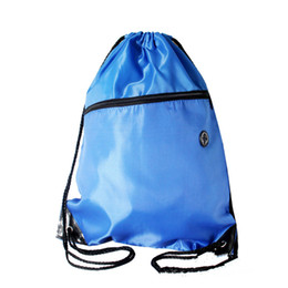 Wholesale Rolling Shoes - Portable Nylon Shoes Bags Zipper Drawstring Dust Backpacks Storage Pouchs for Outdoor Sport Travel #&