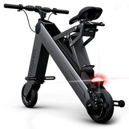Scooters électriques bluetooth en Ligne-COSWHEEL A - ONE Portable Bluetooth Smart 4.0 Paire de Vélo Électrique Pliable 8 Pouces