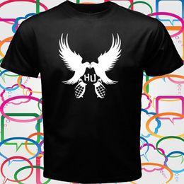 d04d32b5930 Hollywood Undead Rock Rap Hip Hop Band Logo Men s Black T-Shirt Size S to  3XL Cool Casual pride t shirt men Unisex New