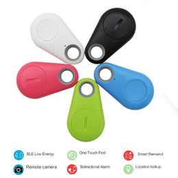 Wholesale Gps Mobile Tracking - Wireless Bluetooth 4.0 Anti-lost Locator Alarm Tracker Finder Tracking Device For Mobile Kids Pet GPS