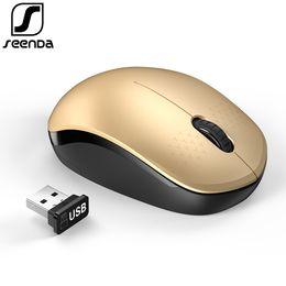 2019 новый бренд New Arrival ! SeenDa Brand Wireless Mouse 2.4G USB Nano Receiver Mouse For Laptop Notebook PC Tablet Home Office Portable Mice скидка новый бренд