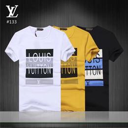 Camisetas de niño online-Camisetas con cuello en V Ropa de Hombre de Verano Tops Casuales Hombres Impresos Jersey de manga Corta Camisetas de Alta Calidad # 0599 Boy Skateboarding Party Tees