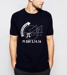 2259414c029cc matemática camisetas Desconto Ciência homens camiseta Gráfico de Matemática  E Pi 2018 verão novo ajuste solto