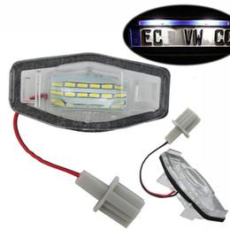 AUCUNE ERREUR 2Pcs 18 LED Lampe de plaque d'immatriculation Nombre lampe pour Honda / Accord / Odyssée / Acura / TSX / Civic 01-05 ? partir de fabricateur