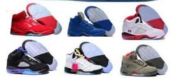 Wholesale room culture - Last 5 Basketball Shoes Mens Women 5s V Green Suede Olympic Grape Cement Stars Take Flight Premium Pinnacle Trophy Room Brand Shoe Sneakers