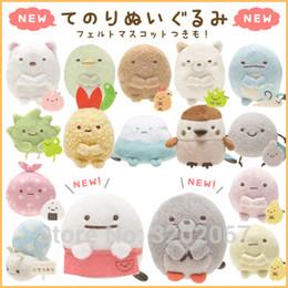 Wholesale San X Wholesale - San-X Sumikko Gurashi Japanese Anime Toys Corner Bio Handheld Biological Soft Stuffed Plush Animal Toy For Girls Gift