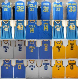2019 jersey de ucla UCLA Bruins Jersey Universidad Baloncesto Russell Westbrook Lonzo Ball Zach LaVine Kareem Abdul Jabbar Reggie Miller Bill Walton Kevin Love Blue rebajas jersey de ucla