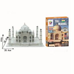Argentina ventas por mayor creativo DIY 3D rompecabezas de madera modelo - Taj Mahal Suministro