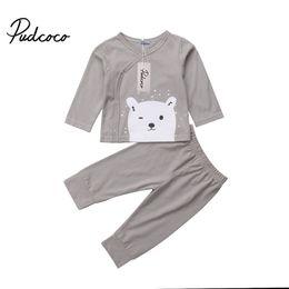 2a4735361b2b 2Pcs Pudcoco Toddler Kids Baby Girl Cartoon Tops Shirt Pants Leggings 2Pcs Outfits  Casual Cotton Kids Clothes