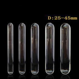 хрустальная палочка Скидка 230 мм длиной прозрачное стекло фаллоимитатор огромный большой пенис двойной фаллоимитатор анальный плагин секс-игрушки для женщин лесби большие фаллоимитаторы анальная пробка Y18110504