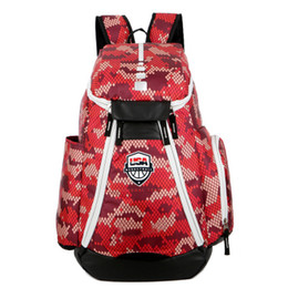 Argentina 2018 Brand Design Men Mochila para mochila escolar Adolescentes Niños Bolsa de portátil Mochila Hombre Mochila Mochila EE. UU. Élite Kevin Durant KD Suministro