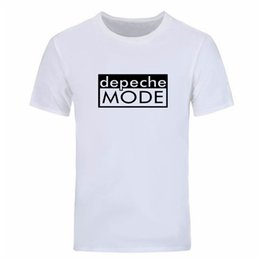 2020 t-shirts de danse Mode d'été Alternative Dance Men T Shirts Distinct Depeche Mode imprimé T Shirt Manches courtes O Neck Man Tops Tees DIY-0349D promotion t-shirts de danse