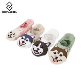 Wholesale cartoon slippers women - [COSPLACOOL]2018 New Arrived Happy pug Dog pet pattern Women socks Sweet Cartoon Funny Socks Fashion Lady girl Cute Ship Meias
