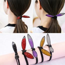 Canada Oreille maille cristal bande de cheveux anneau de femmes petite tête fraîche corde simple tête bijoux cheap ear head jewelry Offre