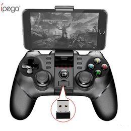 2019 ipega ios игры Ho iPega PG-9076 Беспроводной Bluetooth геймпад 3in1 игровой контроллер игровая консоль джойстик с 2.4 G для PS3 IOS Android мобильный телефон iPhone PC TV дешево ipega ios игры