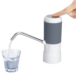 2019 baterias fáceis Fácil bomba de água para a garrafa de água elétrico Dispenser com bateria recarregável beber garrafas de água da cozinha itens de preferência desconto baterias fáceis
